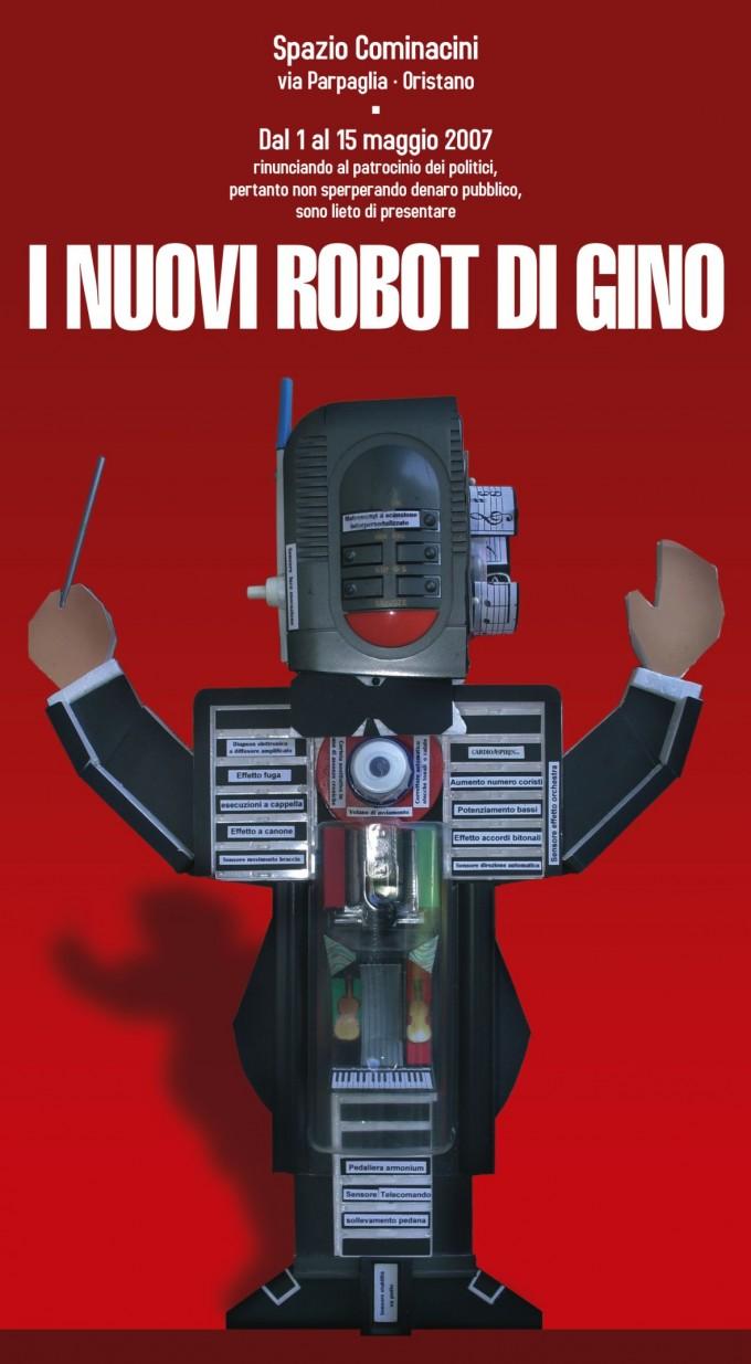 Locandina Gino Robot - 2007