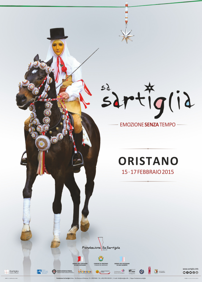 Sartiglia 2015 - manifesto